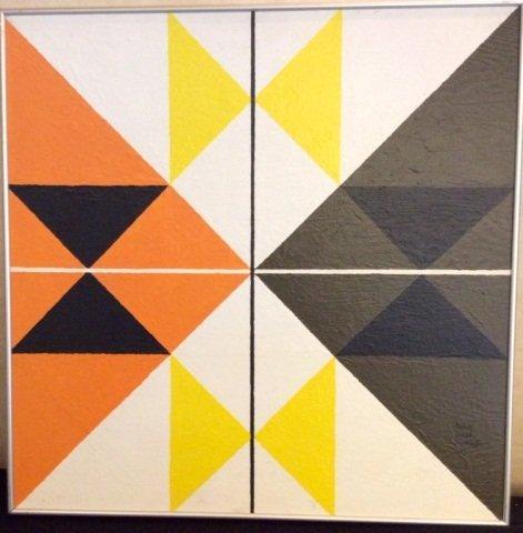 Sidney Jonas Budnick, Cosmic Cross, 1973,Original