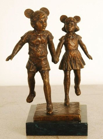 """""""The Veteran"""" Limited Edition Bronze Statue by D"""