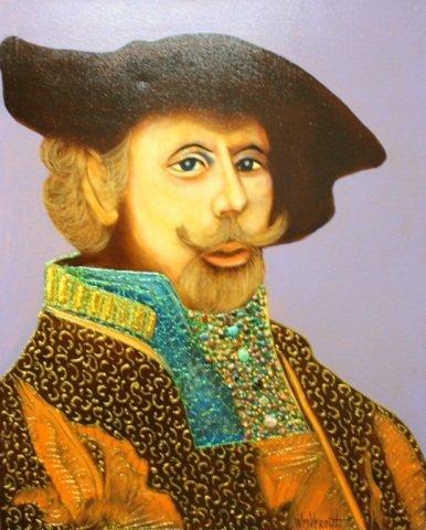 """William Verdult """"The Dutchmaster,"""" """"Rembrant""""Origi"""