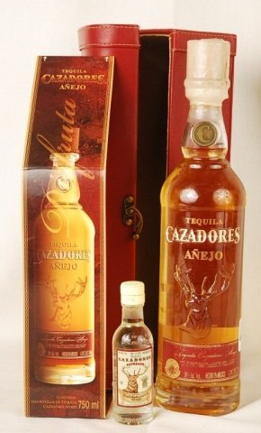 Bottle of Tequila Casadores Anejo
