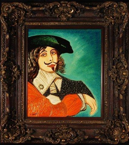 "William Verdult ""Rembrandt"" Original BejeweledOil"