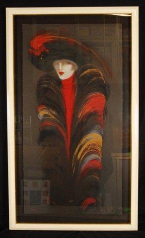 "Victoria Montesinos ""Hat"" Hand Signed"