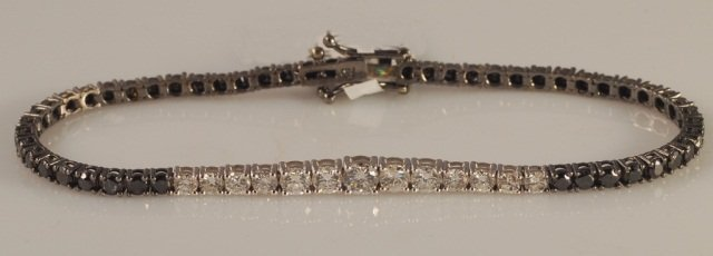 4.84 Carat Diamond Bracelet 18K Gold