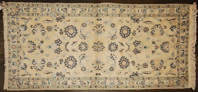 "Hand Woven Oriental Rug 4'5"" x 2'6"""