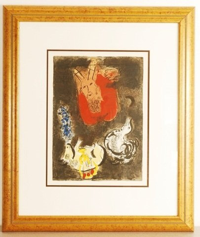 After Marc Chagall, The Exodus, Suite Plate I