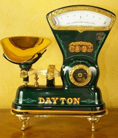 Antique Dayton Candy Scale Restored, Model 166