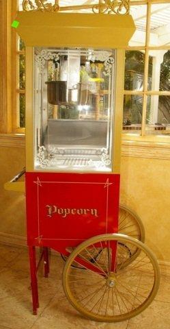 Antique Deluxe Sixty Special Popcorn Machine