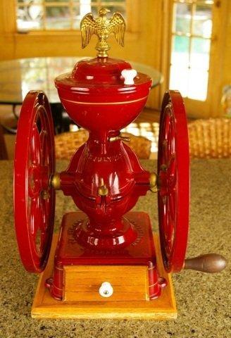 Enterprise Cast Iron Coffee Mill /Grinder w/ Eagle