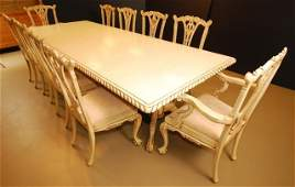 10 Seat Dining room set