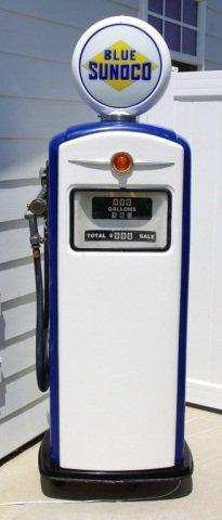 Sunoco Blue Reproduction Pump