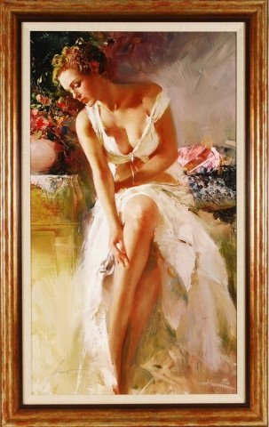 """Pino """"Angelica"""" Hand Signed & Hand Embellished"""