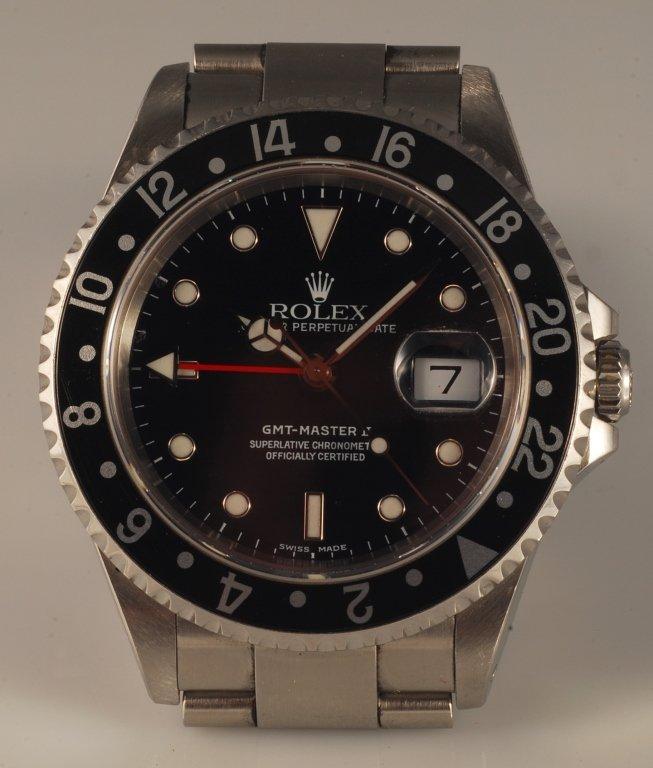 Genuine Stainless Steel Rolex GMT