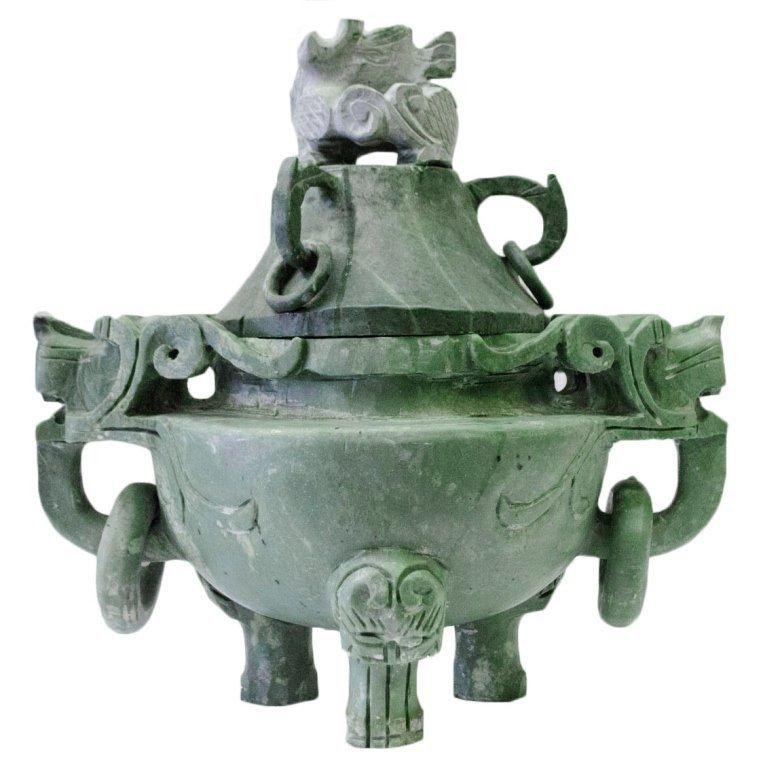 MASSIVE Jade Incense Censer/Burner