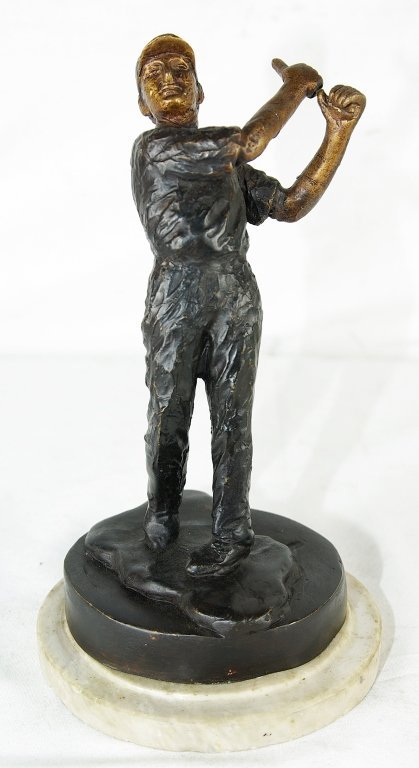 "Bronze Statue ""The Golfer"""