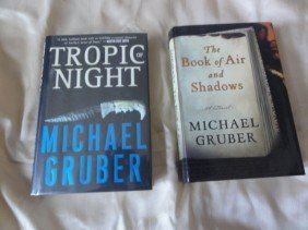 2 MICHAEL GRUBER HAND SIGNED BOOKS