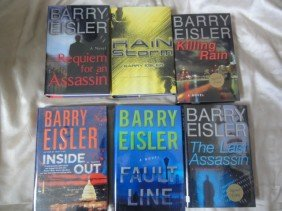 14: 6 AUTHOR HAND SIGNED BOOKS BY BARRY EISLER