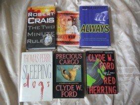 6 AUTHOR SIGNED BOOKS