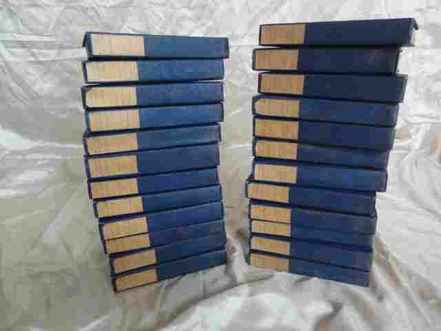 25: THE COURTS OF EUROPE, COMPLETE SET, 24 VOL.