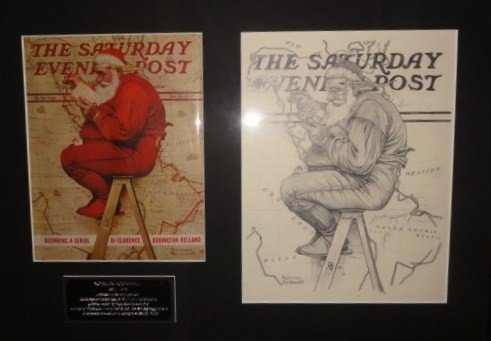 176: Norman Rockwell (preliminary sketch)  Evening Post