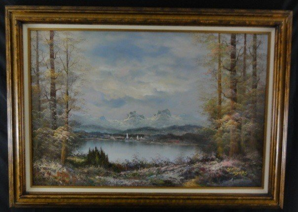 5: Scott Myers Oil on Canvas Signed