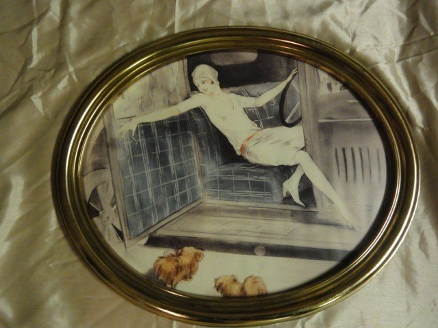 516: LOUIS ICART LITHO PRINT UNSIGNED