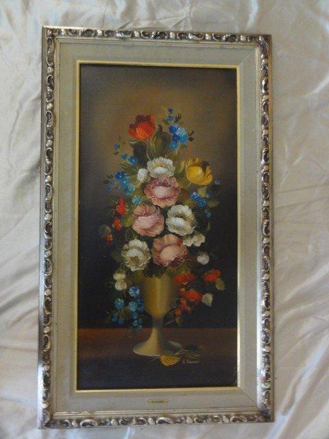 563: Oil on Canvas Ruggeri signed