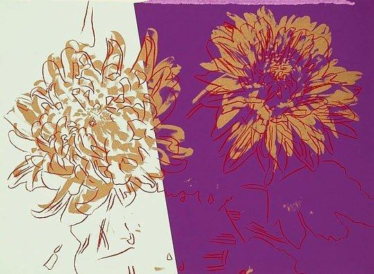 """100: Andy Warhol Screenprint """"KiKu"""" 1982"""
