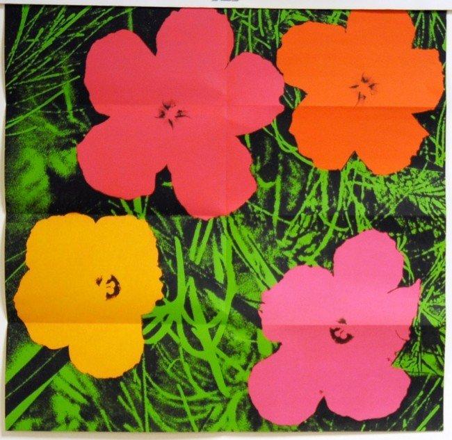 103: Andy Warhol (1928-1987) Flowers 1964 Leo Castelli