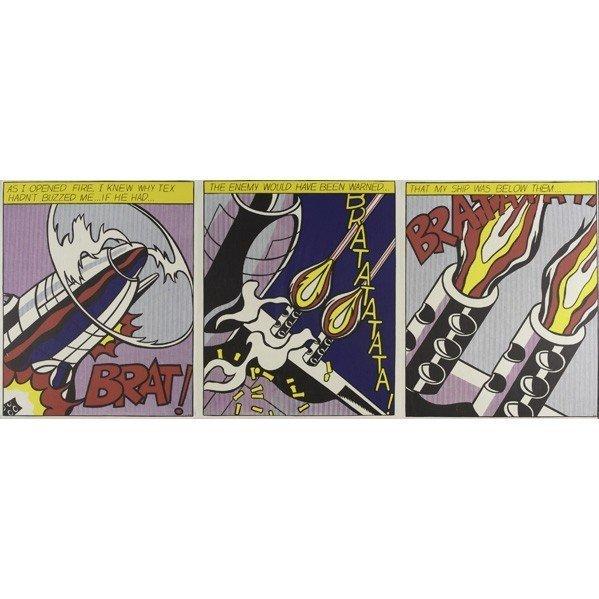 104: Roy Lichtenstein (1923-1997 ) As I Opened Fire