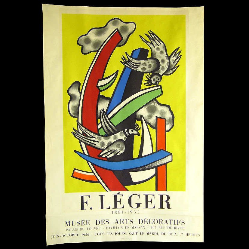 107: Fernand Leger Lithograph 1956 Mourlot