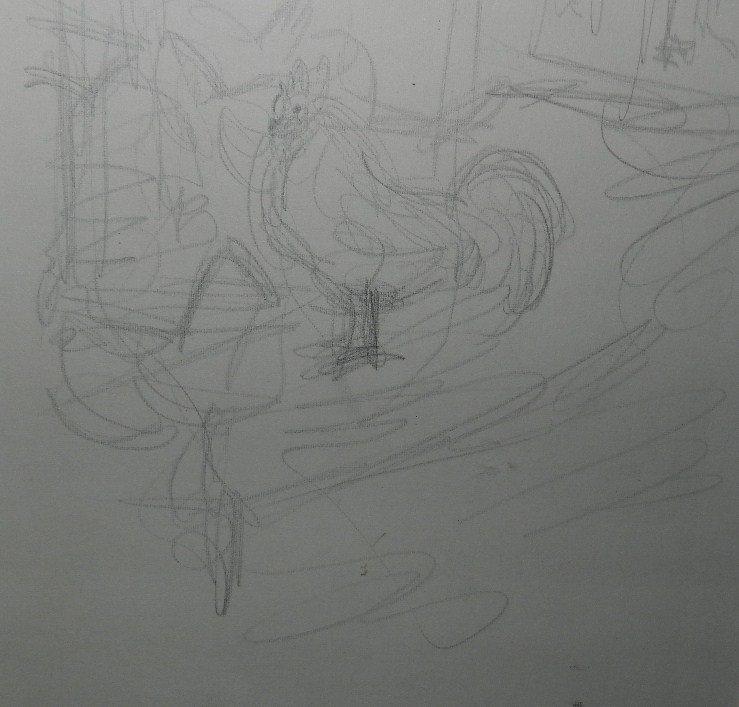 275: Alberto Giacometti (1901-1966) Graphite Drawing - 5