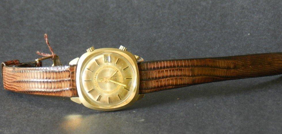 39: Men's Bulova 14K Accutron Astronaut Watch