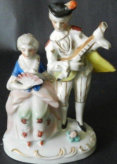 110: 20th C. Japanese Hand Painted Ceramic Figurine