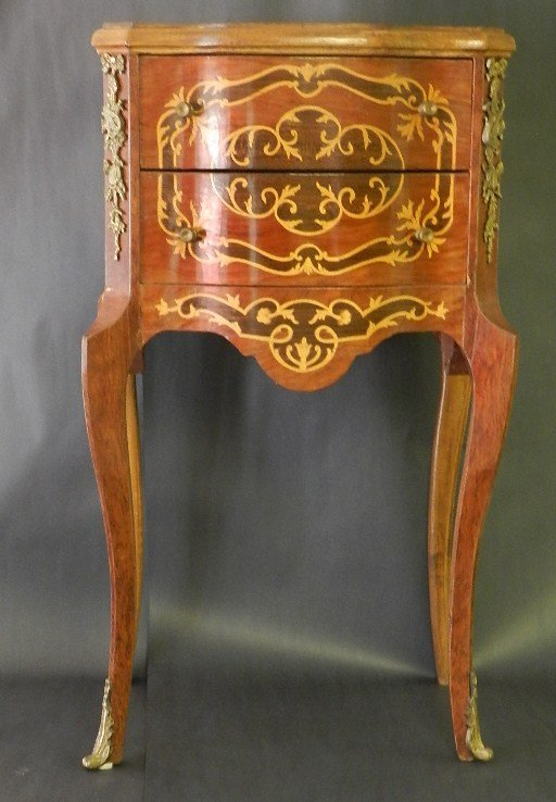 6: French Inlaid  Commode