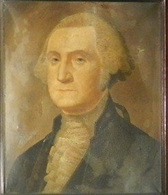 18: Oil Painting of George Washington Circa 19th C.