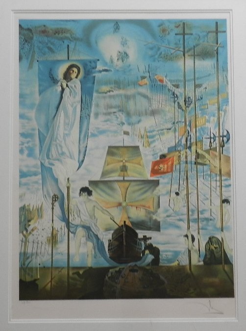 10: SALVADOR DALI Lithograph on Arches Signed