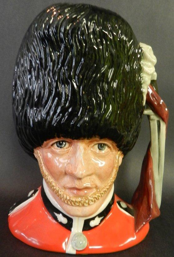 """8: Royal Doulton """"The Guardsman"""" Mug"""