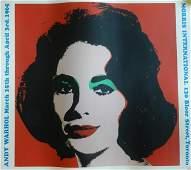 269 Andy Warhol  Liz Taylor Lithograph 1965