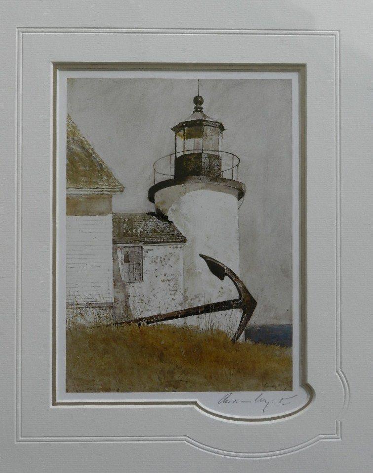 "11: Andrew Wyeth "" Deserted Light"" Pencil Signed"