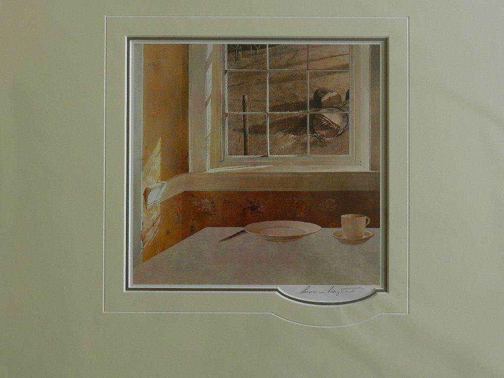 "14: Andrew Wyeth ""Ground Hog Day"" Pencil Signed"