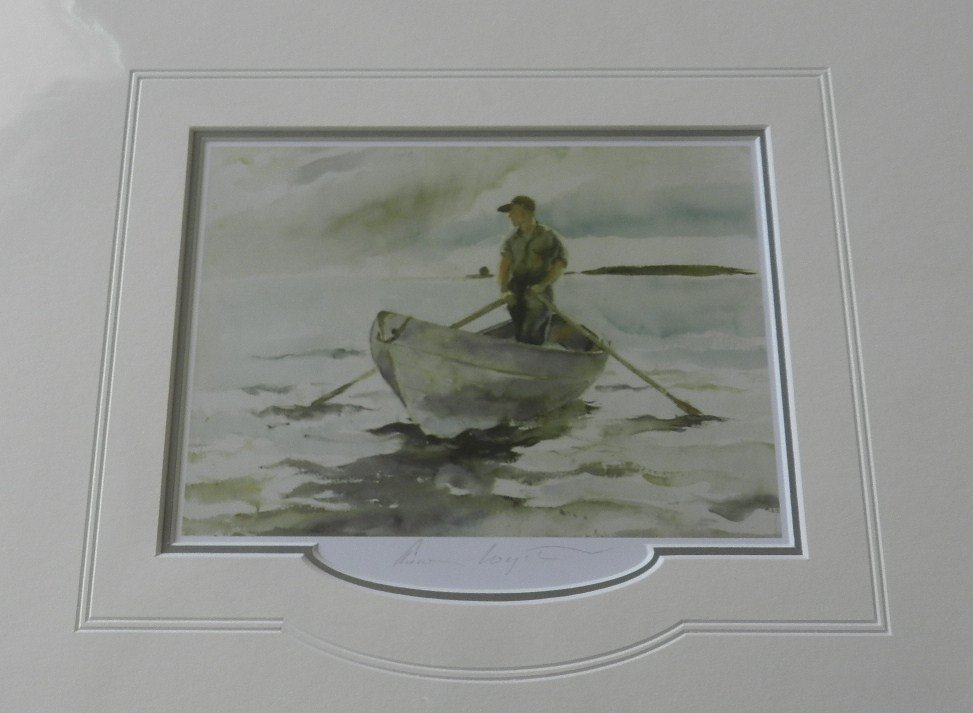 """18: Andrew Wyeth """"Unknown"""" Pencil Signed"""