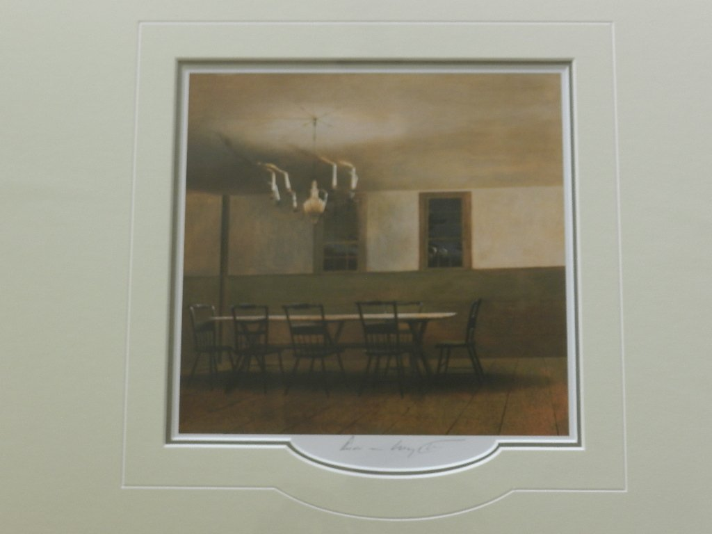 """23: Andrew Wyeth """"The Witching How"""" Pencil Signed"""