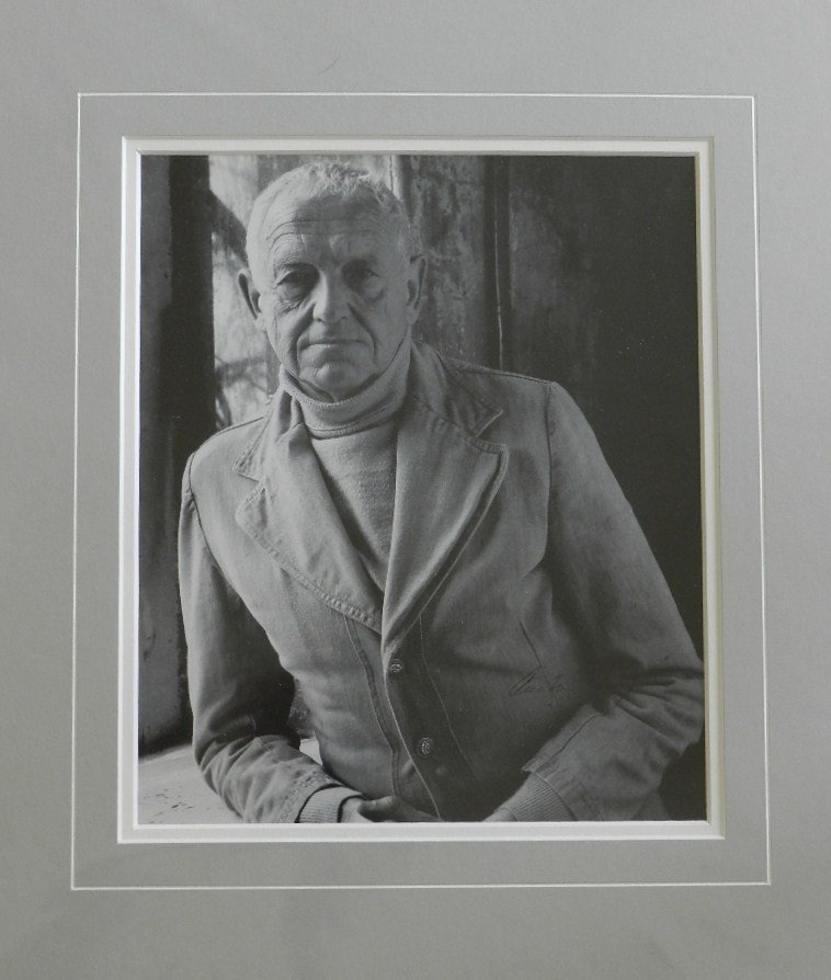 "41: Andrew Wyeth "" Portrait of Andrew Wyeth"" Pen Signed"