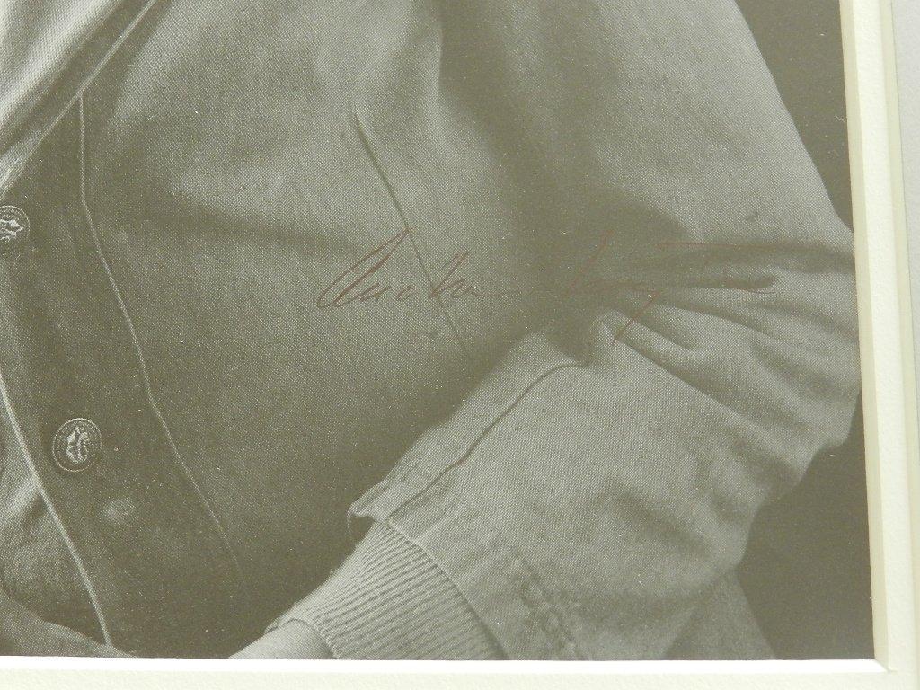 "41: Andrew Wyeth "" Portrait of Andrew Wyeth"" Pen Signed - 2"