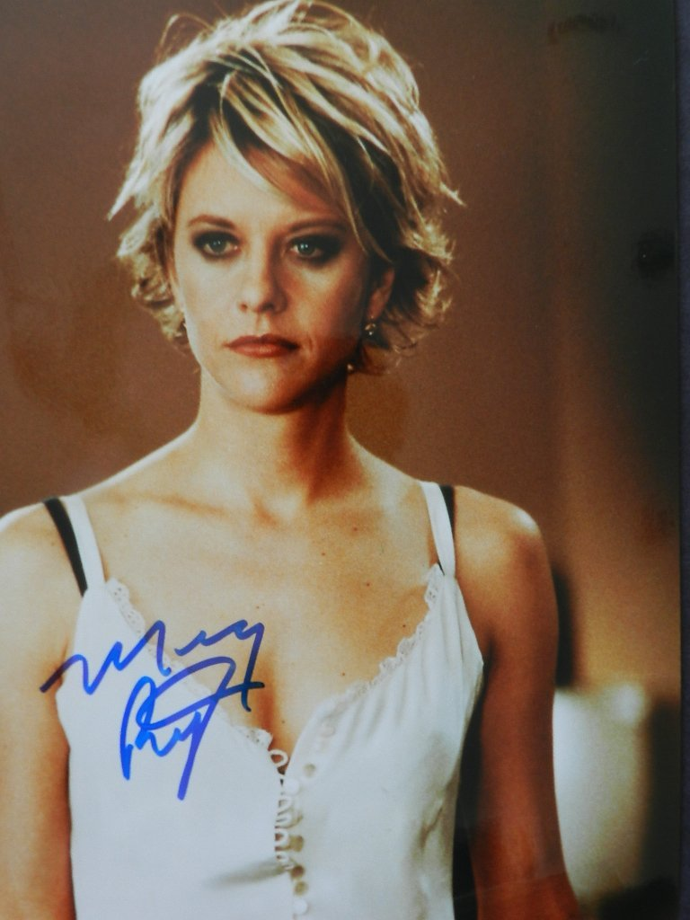5: Meg Ryan Signed Photograph