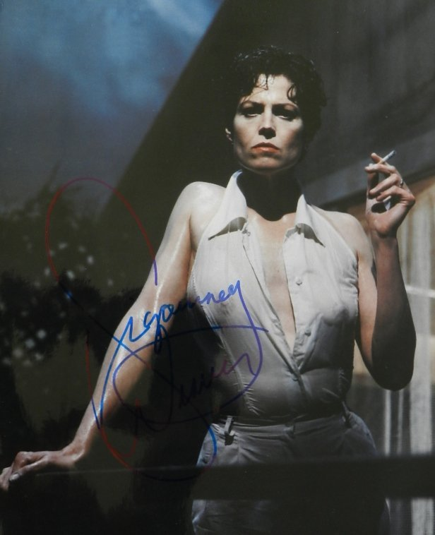 6: Sigourney Weaver Signed Photograph