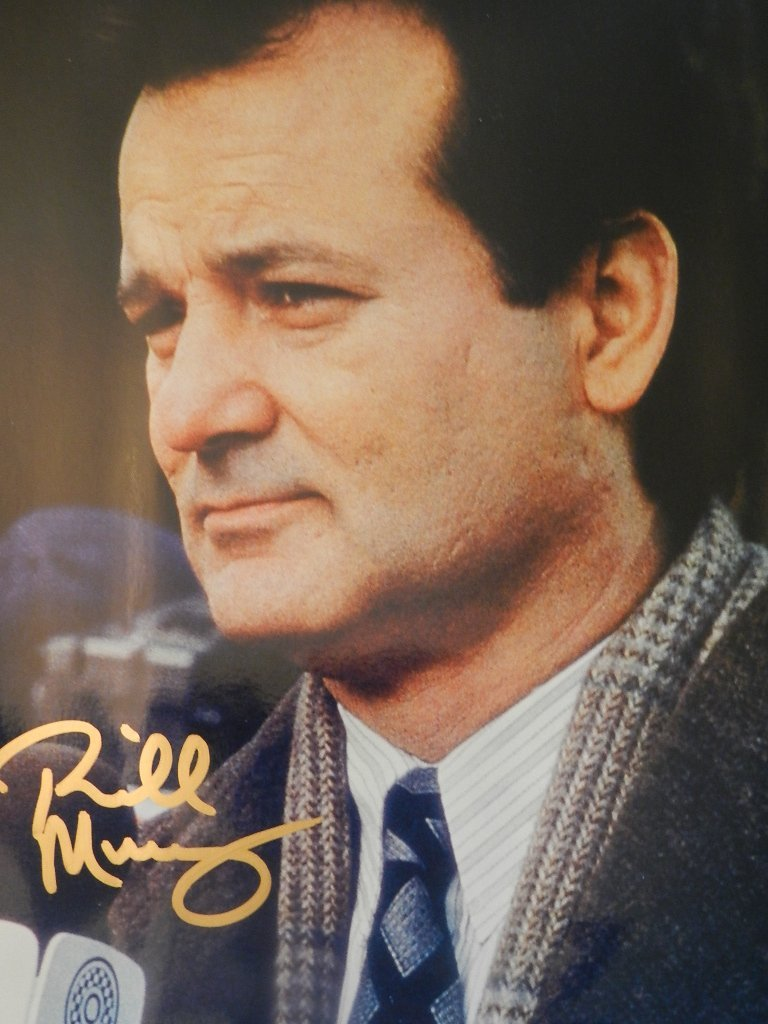 7: Bill Murray Signed Photograph