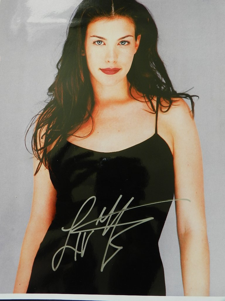 10: Liv Tyler Signed Photograph