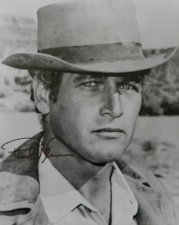 11: Paul Newman Signed Photograph
