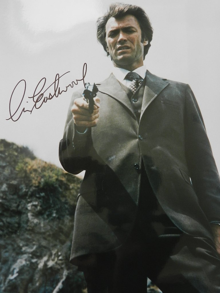 13: Clint Eastwood Signed Photograph